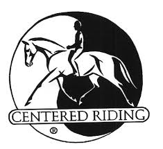 logo centered riding